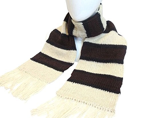 Alpaca Wool Striped Scarf Scarves 6