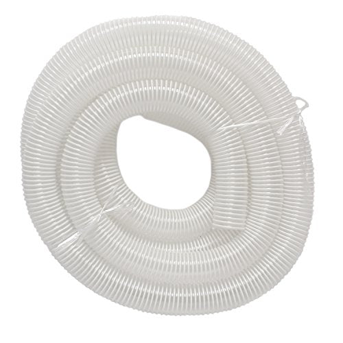 "DCT Dust Collection Hose 2.5"" Inch x 25' Foot – Flexible Dust Collector Hose for Woodshop Woodworking Tools Wood Sawdust"