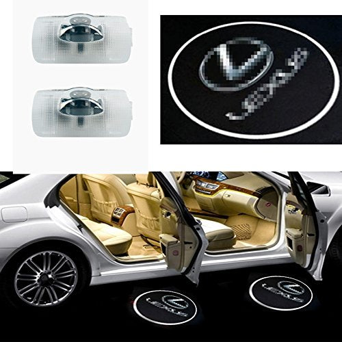 Moderncar 2ps Car Door Led Logo Projector Ghost Shadow Laser Welcome