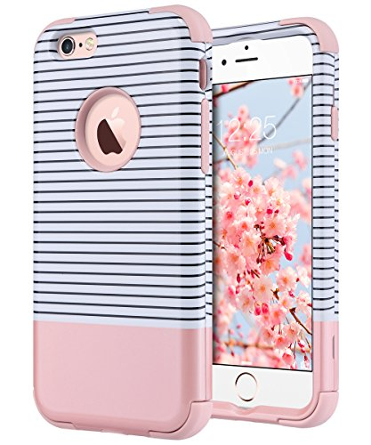 outlet store abda3 1894c iPhone 6s Case, iPhone 6 Case, ULAK Hybrid KNOX ARMOR Heavy Duty Shockproof  Dual Layer Protective Case for Apple iPhone 6S 4.7 Inch & iPhone 6 4.7 ...