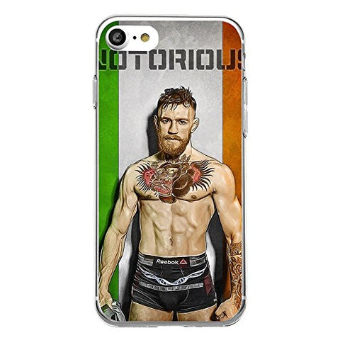 iPhone 6/6S Case Irish Kickboxer Gold King Protective TPU Soft Silicone Ultra Thin Cover (03)