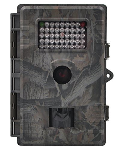 XIKEZAN 1080P HD Wildlife Trail & Game Camera 12MP Motion Activated Low Glow Infrared Night Vision Home Security and Hunting Cameras with 42pcs IR LEDs