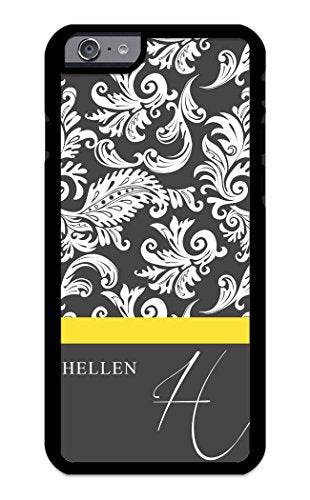online store 404d1 a1e87 Custom Phone Case iPhone 7 PLUS , iPhone 8 PLUS Case iZERCASE Monogram  Personalized Damask with Thin Stripe Pattern Pattern for Apple iPhone 7  PLUS , ...