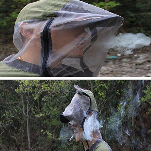 A.B Crew Breathable Mesh Bug Jacket Pants Mitts Lightweight Mosquito Repellent Suit for Hiking Fishing Camping (X-Large)