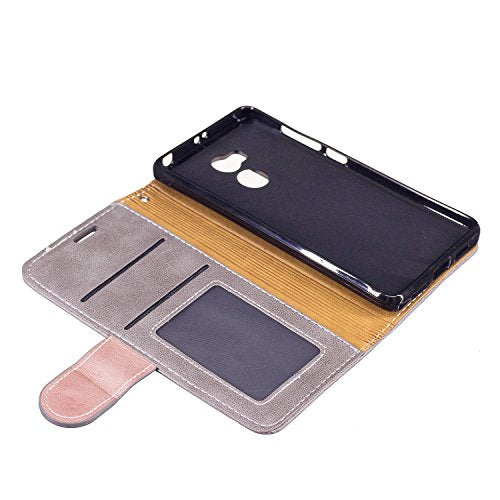 best website 1d01e 20252 Xiaomi Redmi 4S Case,Xiaomi Redmi 4S Cover,ikasus Premium PU Leather Fold  Wallet Pouch Case Wallet Flip Cover Bookstyle Magnetic Card Slots & Stand  ...