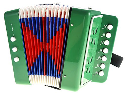 PowerTRC Children's Musical Instrument Accordion (Green)