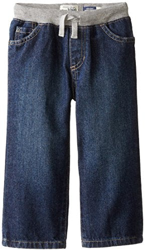 The Children's Place Little Boys and Toddler Pull-On Jean, Liberty Blue, 2T