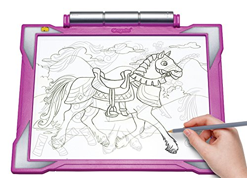 Crayola Light-up Tracing Pad - Pink, Coloring Board for Kids, Gift ...