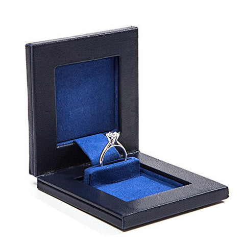 Parker Square Secret Day Box, the World's Best Engagement Ring Box