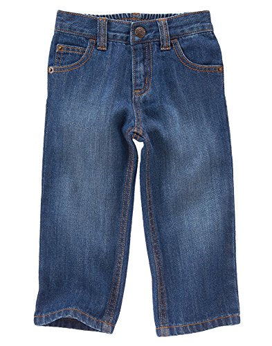 Crazy 8 Toddler Boys' Toddler Boy Medium Wash Straight Fit Jeans, Medium Wash, 2 Years