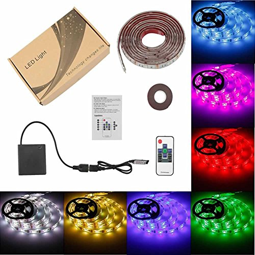 Battery Powered Led Strip Lights Usb Operated Tv Backlight Imenou