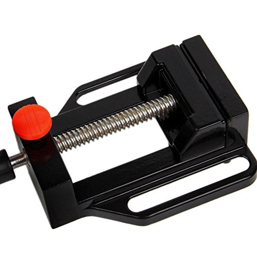 Drill Press Vice,Universal Mini Drill Press Vise Clamp Table Bench Vice for  Jewelry Walnut Nuclear Watch Repairing Clip On DIY Sculpture Craft