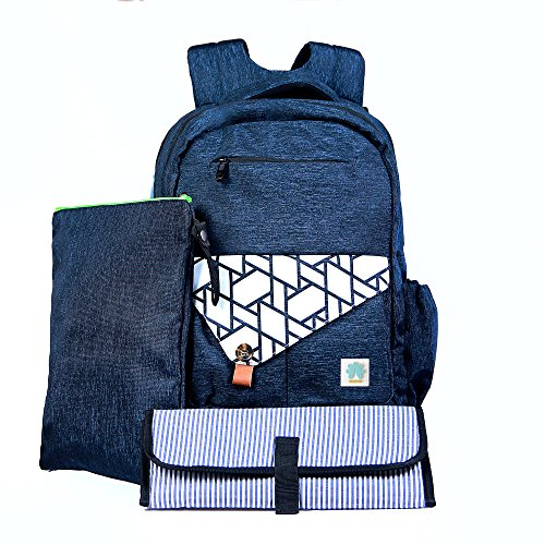 BabyTalia Stylish Diaper Bag Backpack Designed – Baby Care Large - Changing Pad Mat – Waterproof - Travel – Diaper Bag Tote – for Smart Mom – Unisex