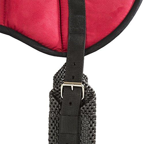 Best Friend Western Style Bareback Saddle Pad, Red