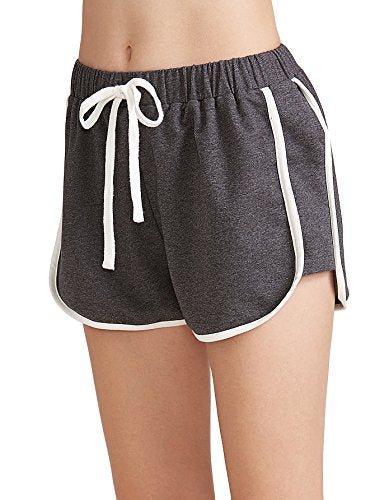SweatyRocks Women's Dolphin Running Workout Shorts Yoga Sport Fitness Short Pant