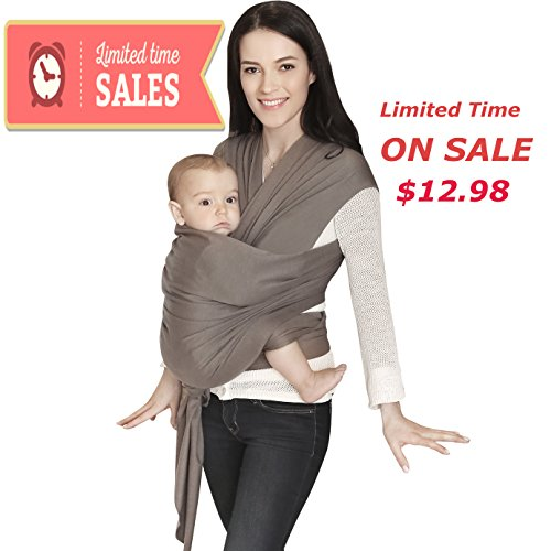 Baby Wrap For Infants And Newborn Baby Wrap Carrier Soft And Comfortable Baby Holder Nursing Cover Wrap For Baby And Mom Hands Free Babies Wraps