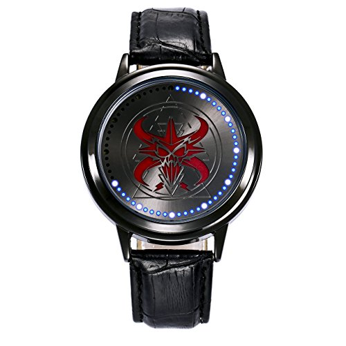 ZRD Skull Boys Watches Touch Screen LED Watch Smart Watch 001