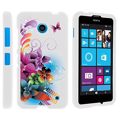 new arrival 75a93 844b1 Nokia 635 Case, Lightweight Snap On Armor Hard Case with Cute Design  Collage for Nokia Lumia 635 (AT&T, Sprint, T Mobile, Virgin Mobile, Boost  Mobile, ...