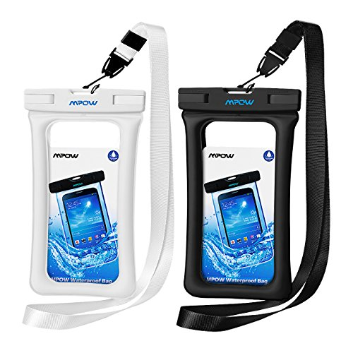 uk availability 55d09 ef713 Mpow Floating Waterproof Case, IPX8 Universal Waterproof Phone Pouch  Underwater Dry Bag for iPhone X/8/8plus/7/7plus/6s/6/6s plus Samsung galaxy  s9/s8 ...