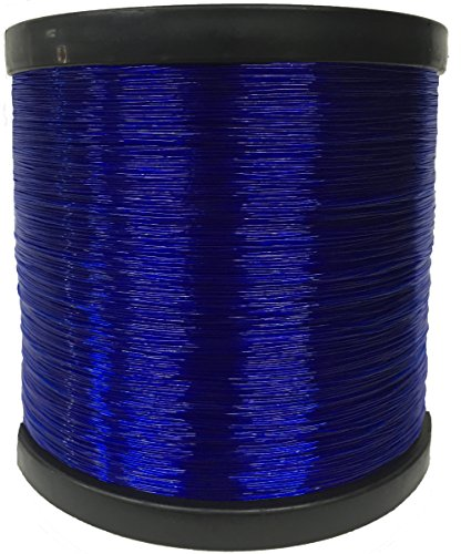 Dark Blue Monofilament Fishing Line Elmax 2lb Bulk Spool