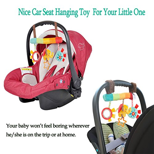 Baby Stroller Toys Hanging Rattles, Playing Crib Bed Playset for ...