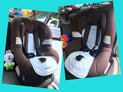 Solfres Hydro Gel Car Seat Cooler Mat For Baby No Refrigeration Needed Carseat Cooling