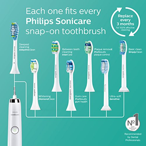 Philips Sonicare 2 Series plaque control rechargeable electric toothbrush, HX6211/04