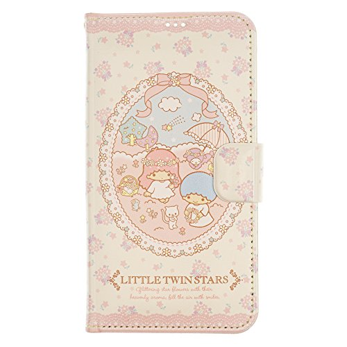 timeless design 43446 0a9e0 iPhone 8 Plus / iPhone 7 Plus Case Little Twin Stars Cute Diary Wallet Flip  Synthetic Leather Anti-Shock Mirror Cover for [ Apple iPhone 7 Plus / ...