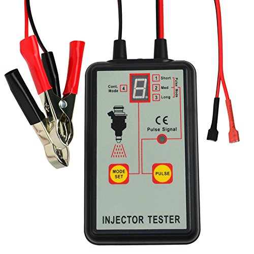 Handheld Compact Design Automobile 12V Car Diagnostic Tool 4 Modes Fuel Injection Pump Injector Tester