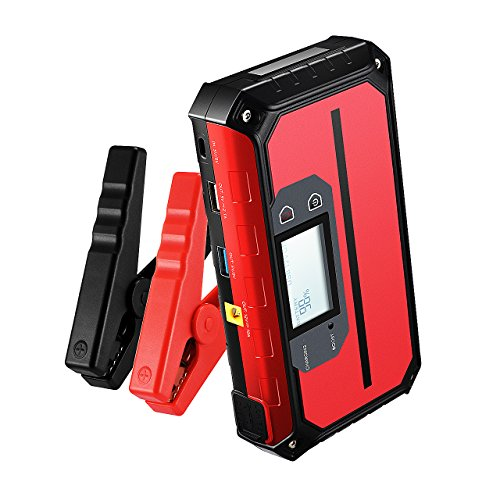 VicTsing 1000A Peak 20800mAh Portable Car Jump Starter (Up to 8.0L Gas, 6.0L Diesel Engine), 12V Auto Battery Booster with Smart QC 3.0 Quick Charging Ports, Power Pack Built-in LED Light