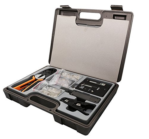 130 Piece Network, Telephone System Installtion & Repair Tool Kit