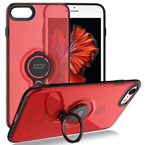 Iphone 8 Case Iphone 7 Crystal Case With Ring Holder Kickstand