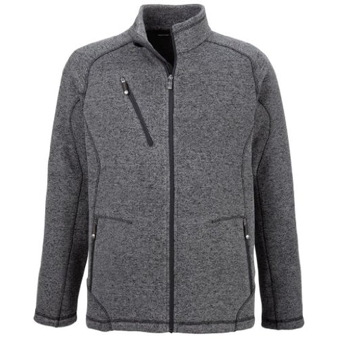 Ash City Mens Peak Sweater Fleece Jacket
