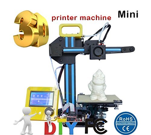 DIY Mini 3D Printer 1.75mm High Efficiency High Precision Portable 3D Printing Personal Desktop Kit