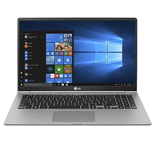 "LG gram Thin & Light Laptop - 15.6"" FHD IPS Touch, Core i7 (8th Gen), 16GB RAM, 1TB SSD, 2.5lbs, Up to 16.5 hrs, Thunderbolt 3, Finger Print Reader, Windows 10 Home - 15Z980-R.AAS9U1 (2018 model)"