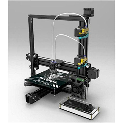 2016 TEVO TARANTULA - PRUSA i3 REPRAP 3D PRINTER DIY KIT + 2 ROLLS OF FILAMENTS + 8GB SD MEMORY CARD (DUAL EXTRUDER + LARGE PRINT BED + AUTO LEVELLING)