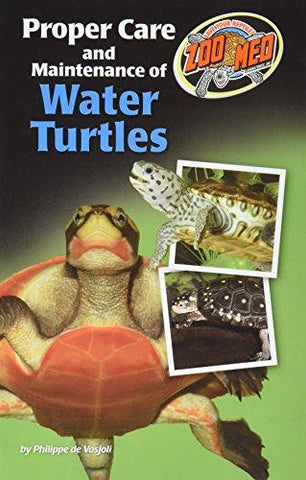 Zoo Med Proper Care and Maintenance of Water Turtles (Paperback)