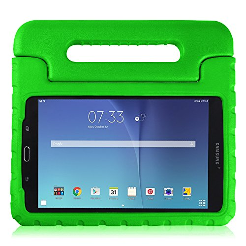 pretty nice 6ebe7 2d7a5 Fintie Samsung Galaxy Tab E 8.0 Case - Light Weight Shock Proof Convertible  Handle Stand Kids Friendly for Samsung Galaxy Tab E 32GB SM-T378 / Tab E ...