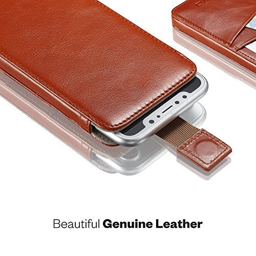 on sale 92a3d 6884d KAVAJ iPhone X Holster Case Leather
