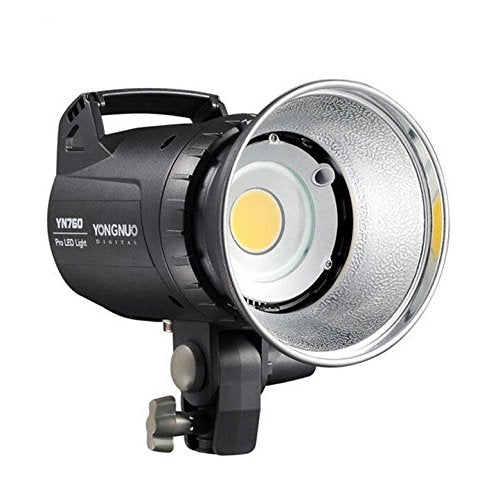 YONGNUO YN760 LED Studio Light Photography Lamp with 5500K Color Temperature & Adjustable Brightness for Camera Camcorder + HuiHuang USB LED Free gift