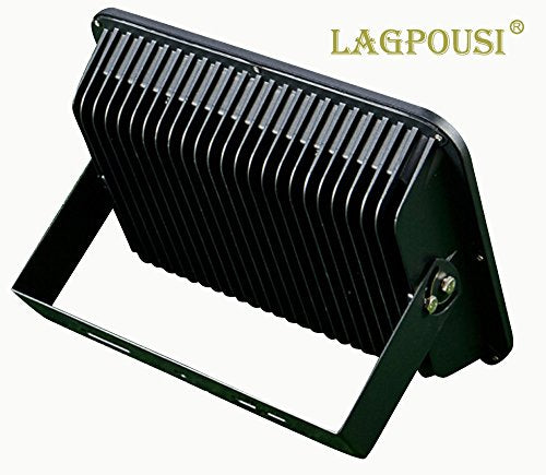 lagpousi 150W Super Bright Outdoor LED Spotlight Lights,750W Halogen Bulb Equivalent, Waterproof IP66 15000lm,OSRAM LED Chip,Angle of 60 Degrees,6000K White,Garden Lights.Flood Light,floodlight