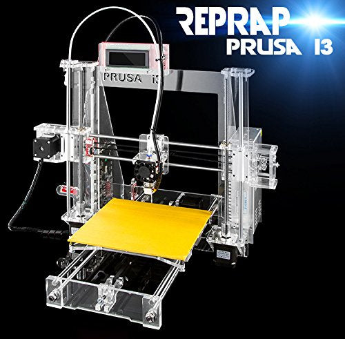 uality High Precision Reprap Prusa i3 DIY 3d Printer kit with 2 Rolls Filament 8GB SD card and LCD for Free