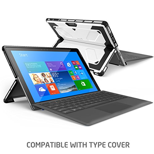 The New Surface Pro 2017 Case, [Heavy Duty] i-Blason Armorbox Dual Layer  Hybrid Full-body Protective Kickstand Case Compatible With Microsoft  Surface
