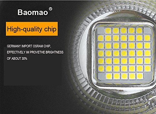 baomao 150W Super Bright Outdoor LED Spotlight Lights,750W Halogen Bulb Equivalent, Waterproof IP66 15000lm,OSRAM LED Chip,Angle of 60 degrees,4000K Daylight,Garden lights.Flood light ,floodlight