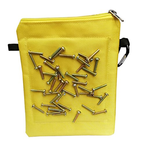 Magnetic Tool Bags Multi Purpose Oxford Cloth Waterproof Tool Pouch for Holding Screws Nails Drill Bits Best Tool Gift for Men Women Dad Husband Repairmen Woodworker CTD06