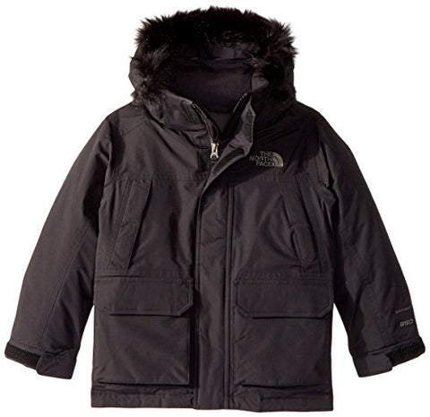 The North Face Big Boys' McMurdo Down Parka (Sizes 8 - 20) TNF Black Small