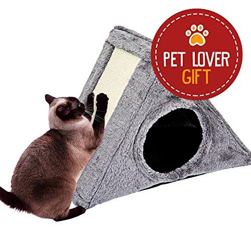 Bird Supplies Special Section Cartoon Cat Pattern Hut Pet Parrot Cage Snuggle Tent Hammock Reusable Washable Bird Bed Cage Toy S/l New Elegant In Smell