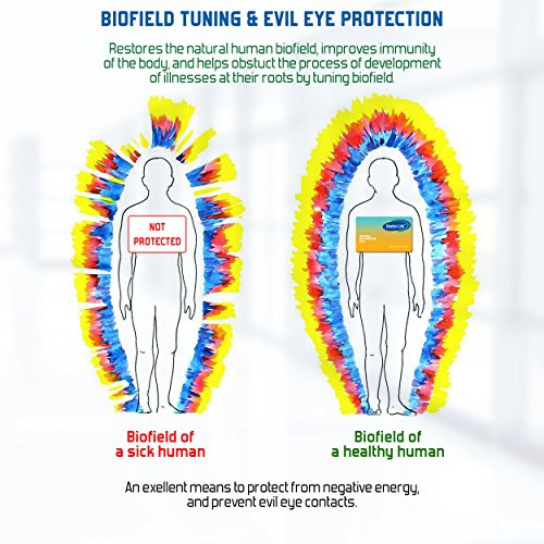 Anti EMF Protection Card – Electromagnetic Radiation Protection  Shield-Blocker – Personal EMF Neutralizer and Protector from Evil Eye  Contacts for