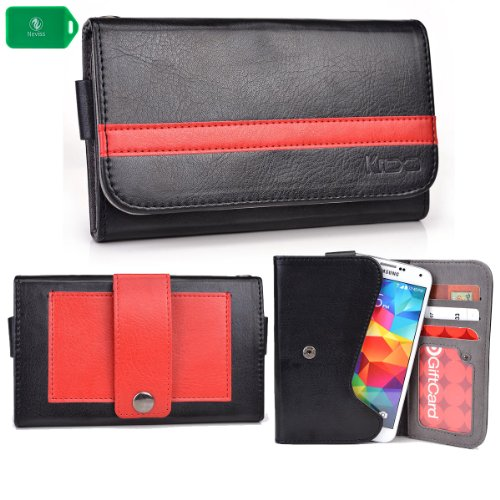 Phone case wallet w/attached belp cli