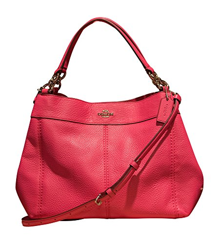 Coach Pebbled Leather Small Lexy Shoulder Bag eaeb364f2d993